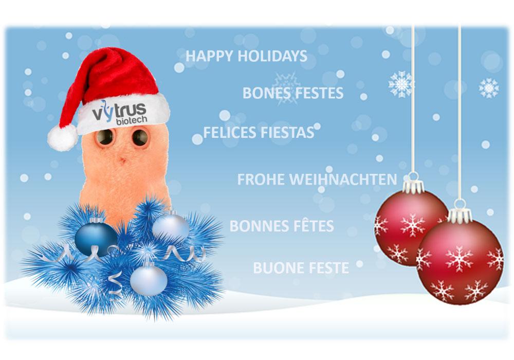 happy holidais Vytrus