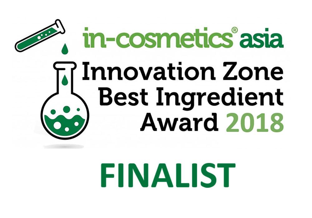 in-cosmetics Asia Vytrus finalist